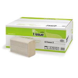 E-Tissue E-Tissue - Z-vouwhanddoekpapier, 2-laags Recycled