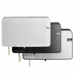 E-Tissue E-Tissue -  Traditioneel Duo Toiletrol Dispenser