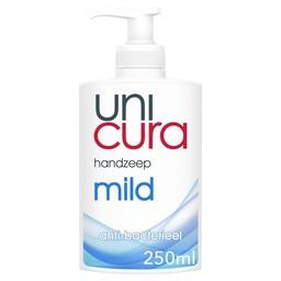 - UniCura - Vloeibare Handzeep, Mild (250ml flacon + pomp)