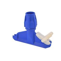 SYR Kunststof Mopklem (Blauw) Steeltype G
