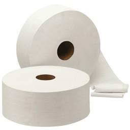 Cleanio Jumbo-Maxi Toiletrollen, 2-Laags Cellulose, 380m