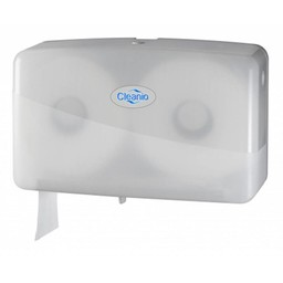 Pearl-Line Jumbo-Mini Duo Toiletrolhouder (Pearl-White)