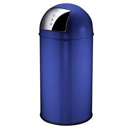 EKO EKO - Afvalbak Pushcan, 40ltr (Blauw)
