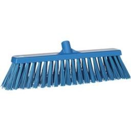 Vikan Vikan - Brede Bezem, Harde Polyester Vezels 53cm  (Blauw)