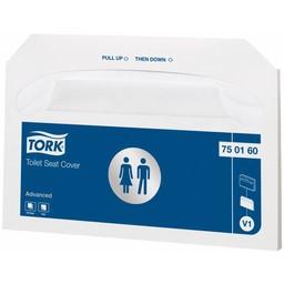 Tork Tork - Toiletbril Afdekhoezen  V1 Advanced (Doos á 500stuks)