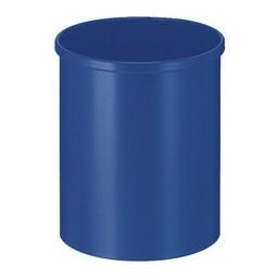 Vepabins Ronde Metalen Papierbak, 15L (Blauw)