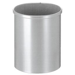 Vepabins Ronde Metalen Papierbak, 15L (Grijs)