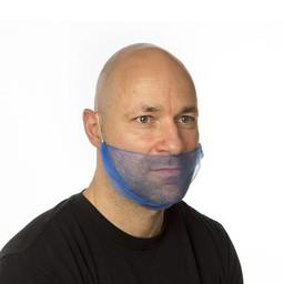 CMT - Micromesh Baardnetten, Zacht (Blauw)
