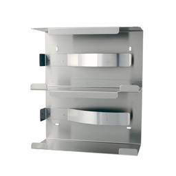 MediQo-Line MediQo-Line - RVS Handschoenendispenser (Dubbel)