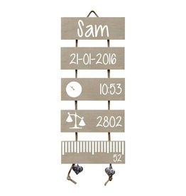 Geboorteladder Sam