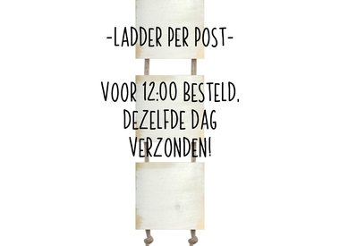 Ladder per post