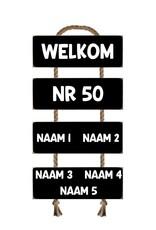 Naambord ladder 50