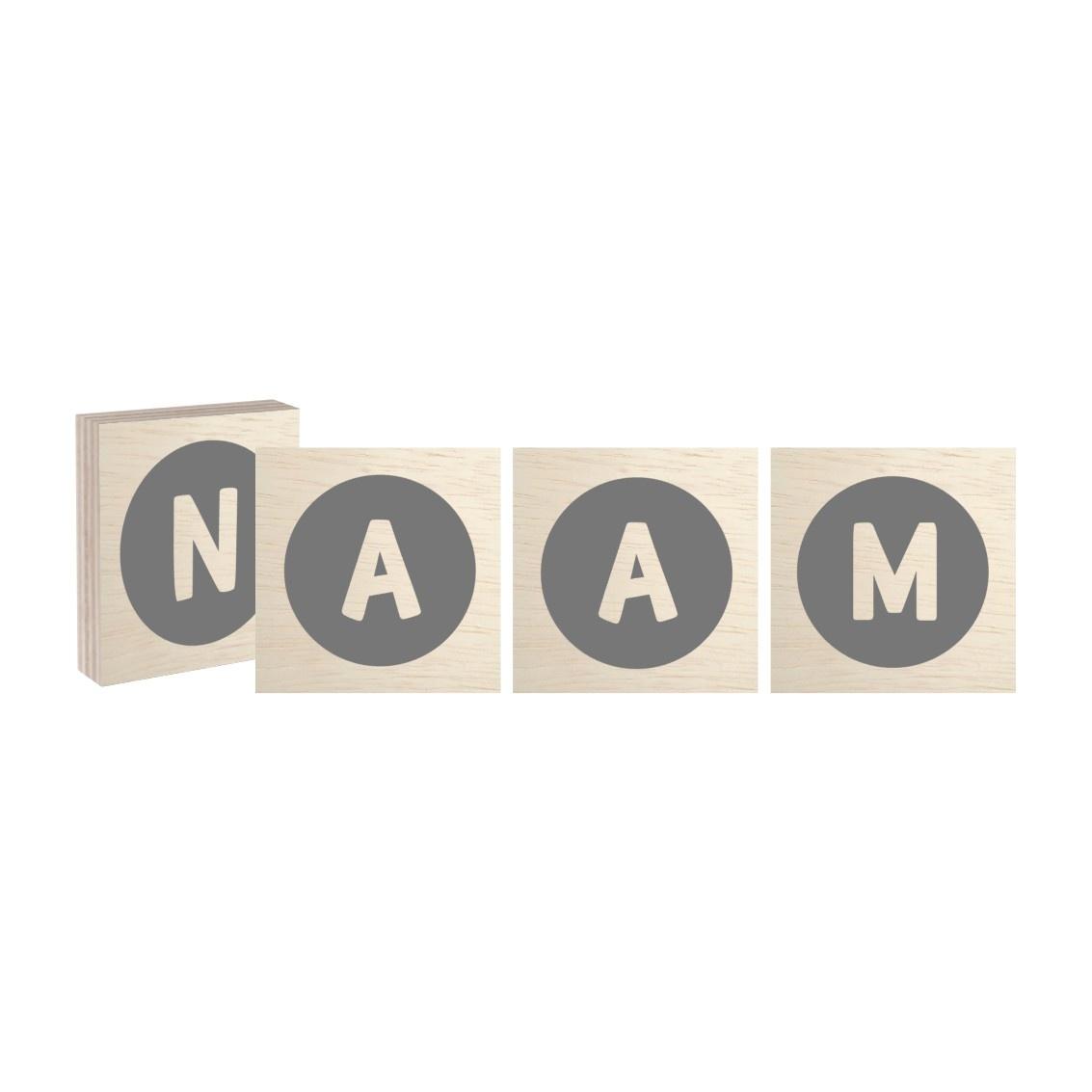 Naamblok Cirkel