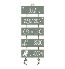 Geboorteladder Lola Leemgroen