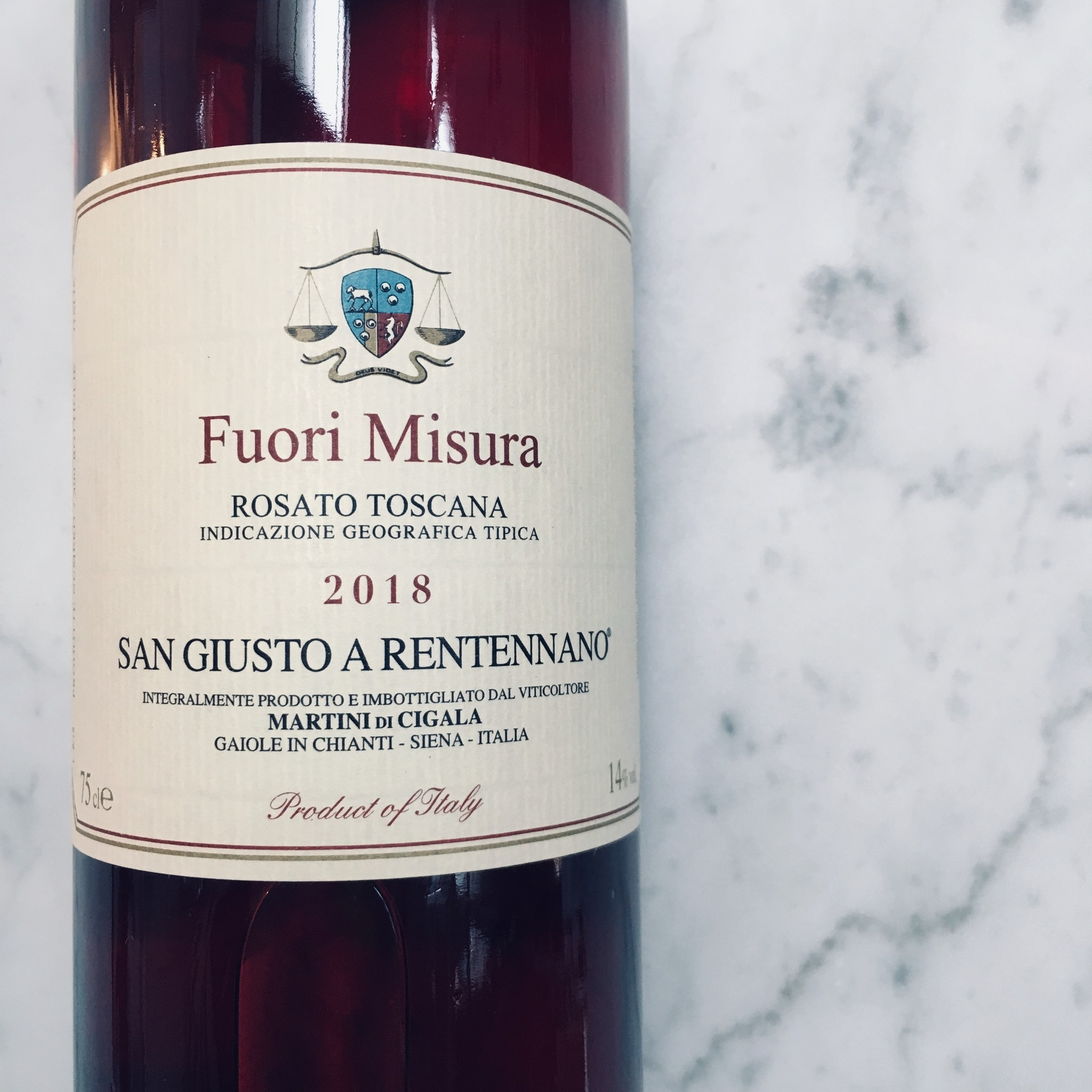 Fuori Misura 2018, Rosato IGT Toscana