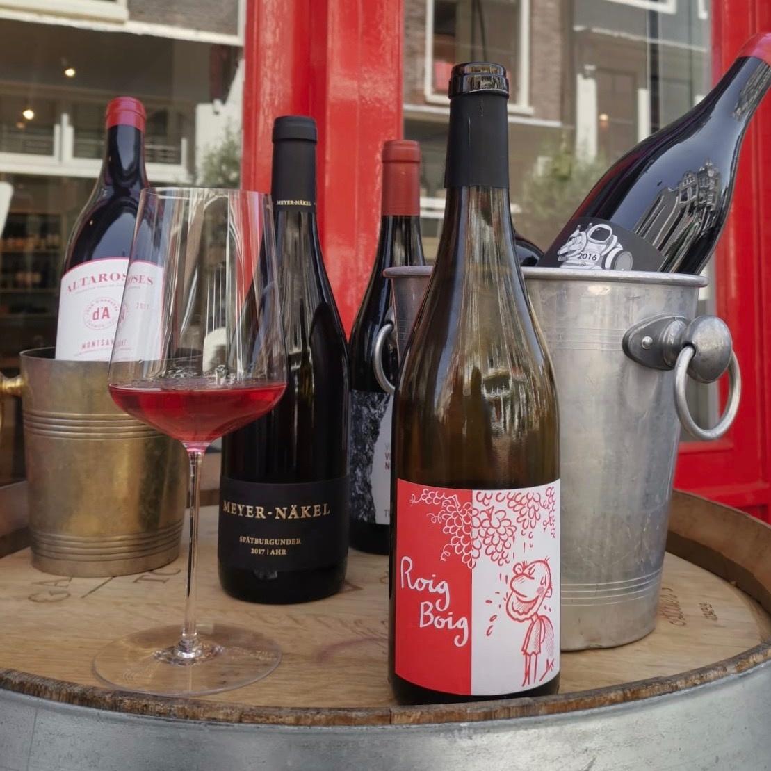 Proeverij gekoelde rode wijnen Zaterdag 6 Juli 2019