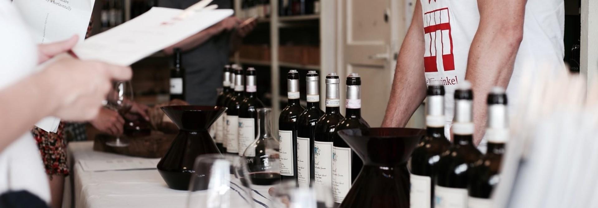 De Wijnwinkel's Agenda
