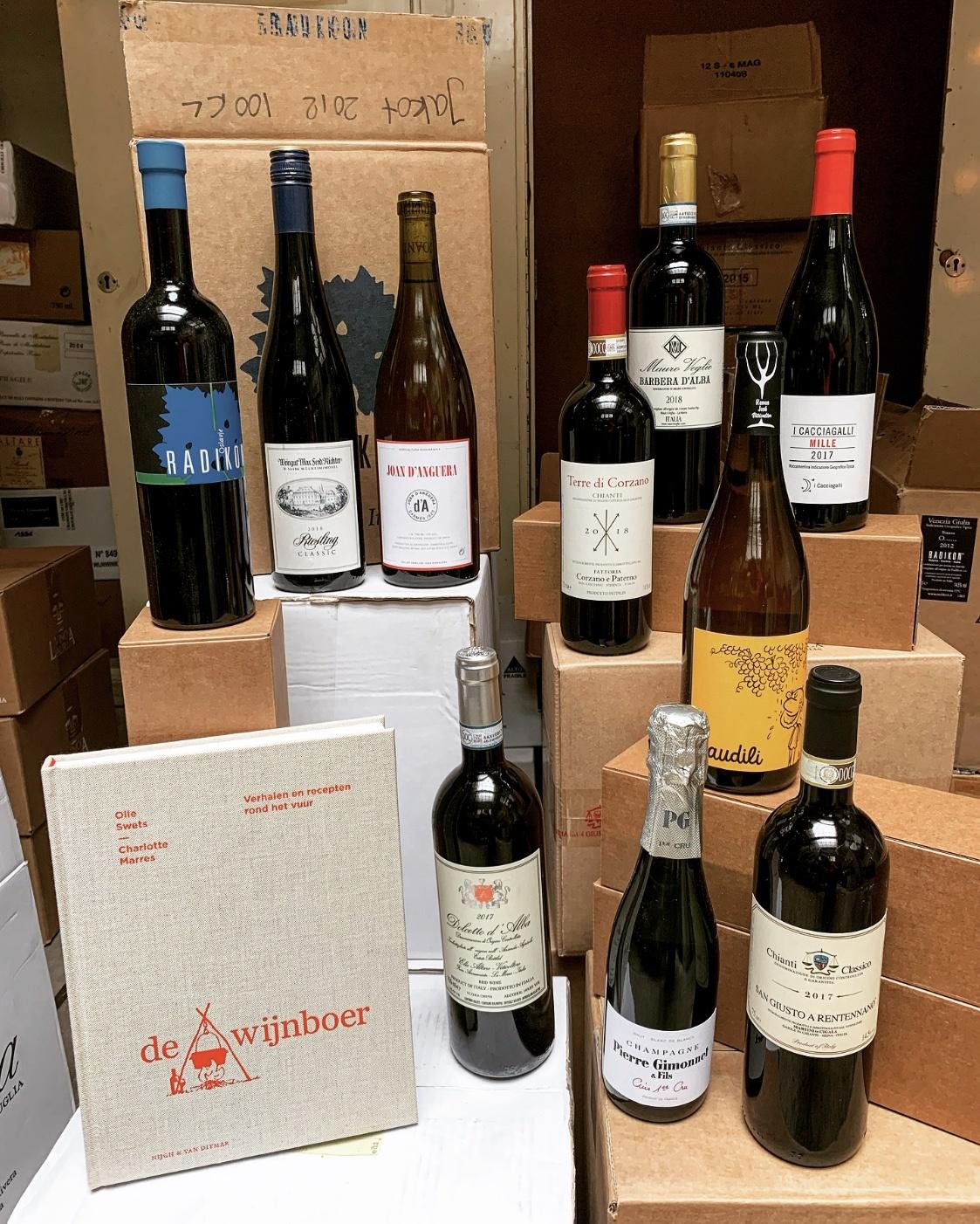 De Wijnboer met 10 bijpassende wijnen-1
