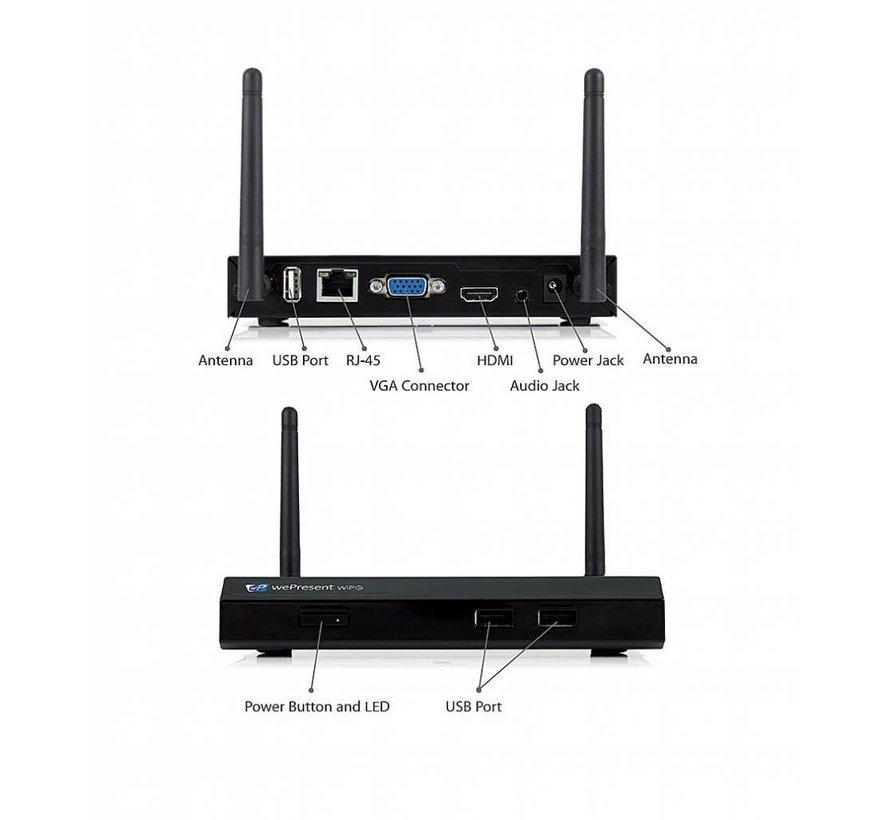 wePresent WiPG-1000-P - gemakkelijk draadloos presenteren!