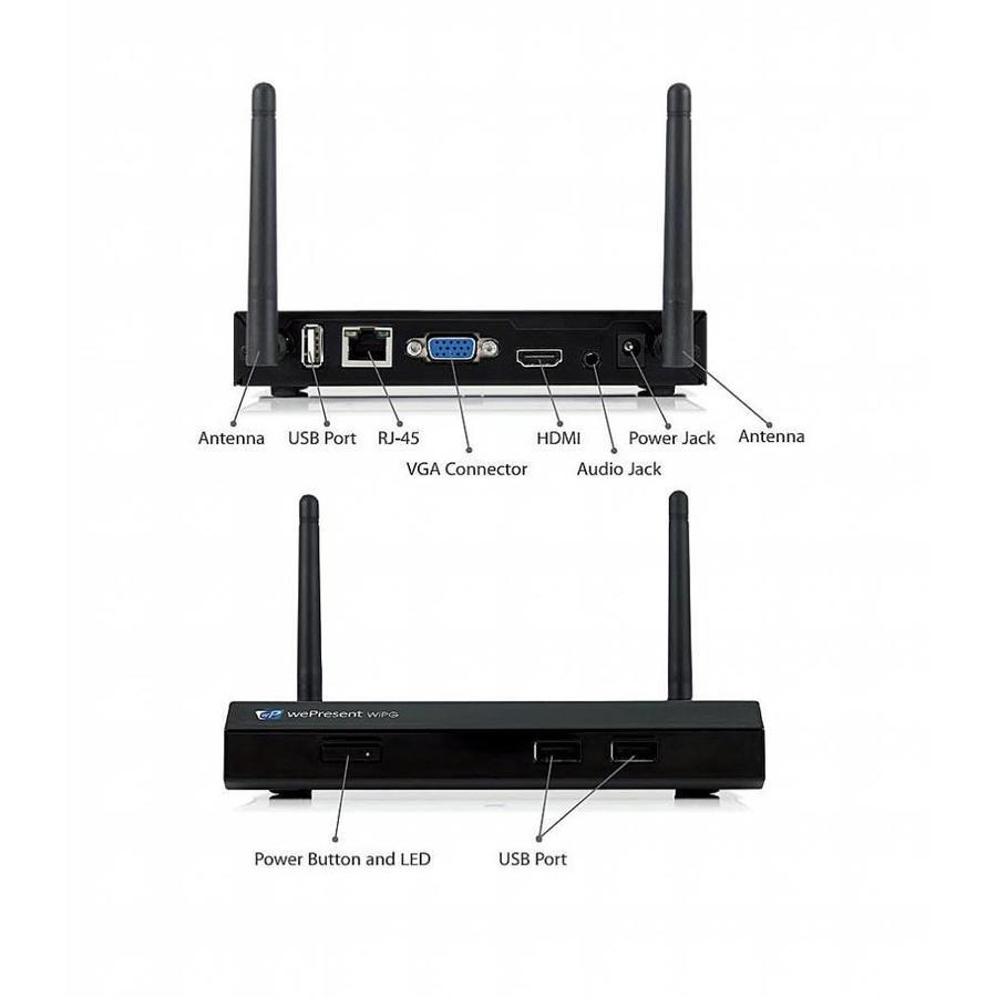 wePresent WiPG-1000 - gemakkelijk draadloos presenteren!