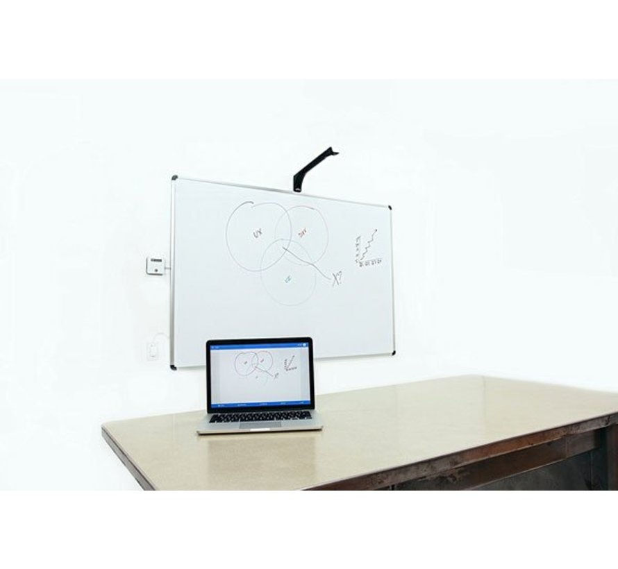 Live whiteboard content sharing