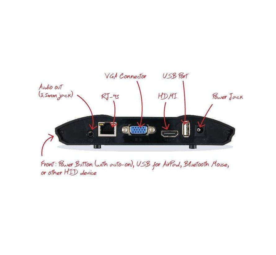 wePresent WiPG-1600W - gemakkelijk draadloos presenteren in combinatie met touch!