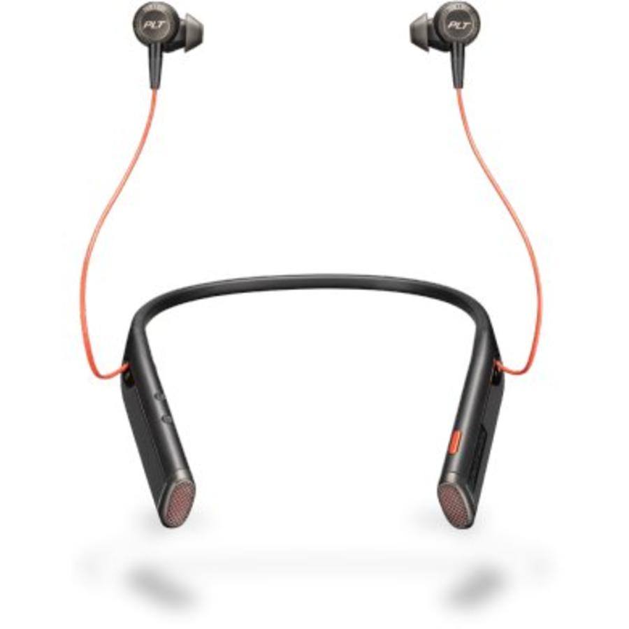 Plantronics Voyager 6200 UC - Bluetooth headset met nekbeugel