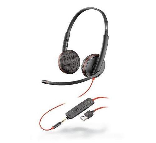 Plantronics Blackwire C3225 - stereo USB-A headset