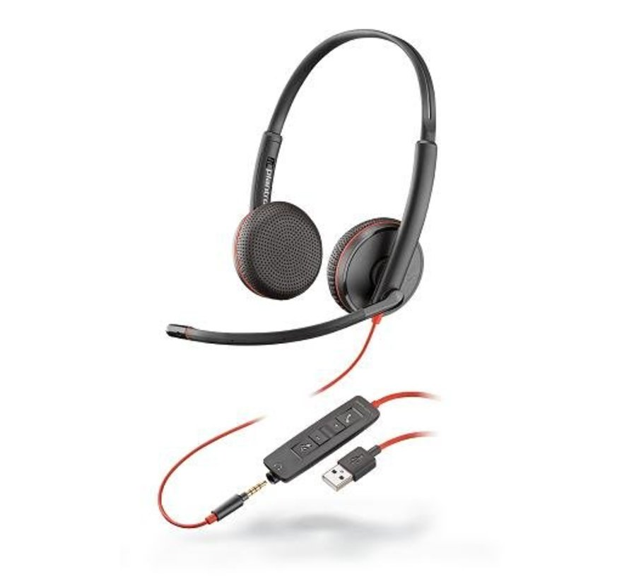 Blackwire C3225 - stereo USB-A headset