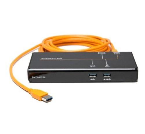 Konftel Konftel OCC Hub - BYOD setups in gebruik nemen met 1 kabel!