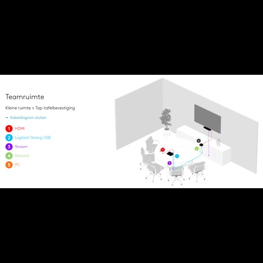 Logitech Tap voor Microsoft Teams - Small