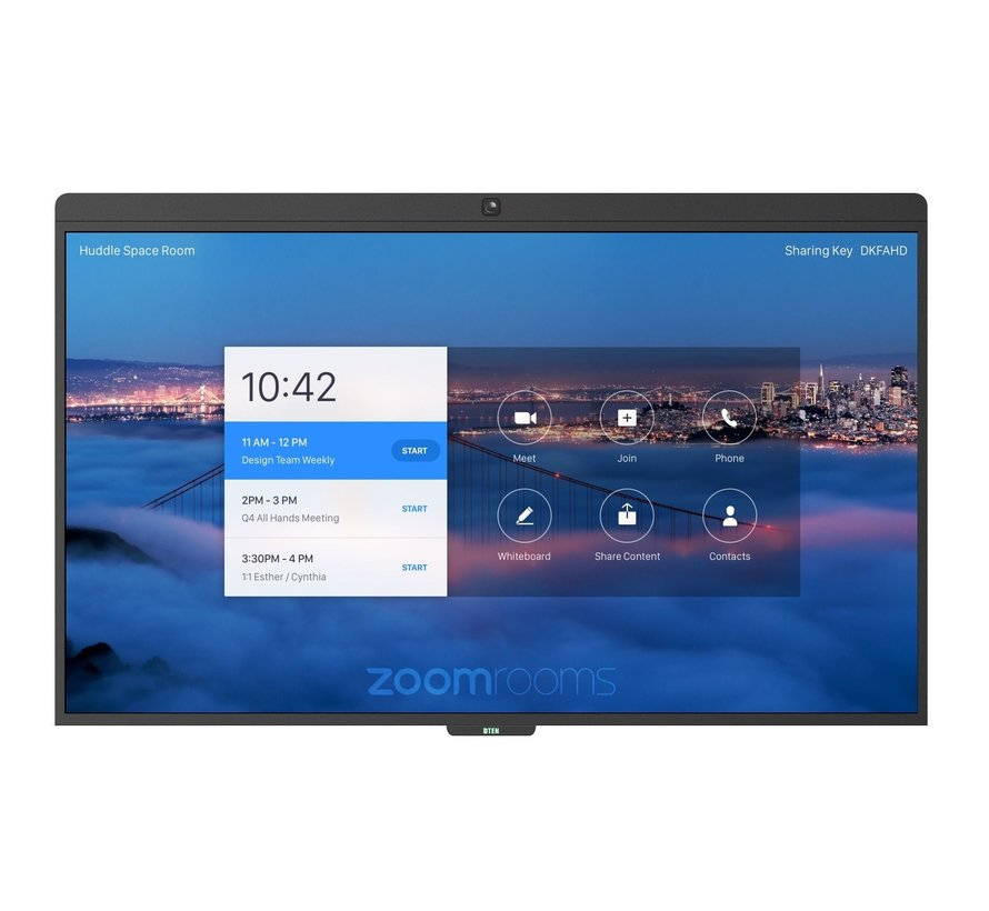 DTEN D7: gebruiksvriendelijk all-in videovergadersysteem voor Zoom