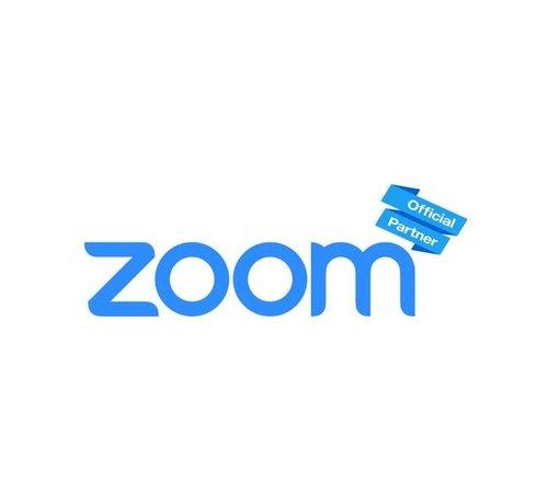 Zoom Pro licentie (minimaal 5)