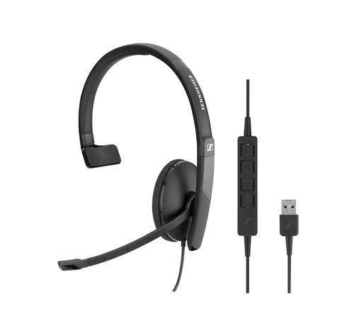 Sennheiser SC 130 USB headset (mono)