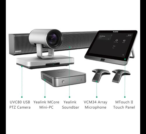 Yealink MVC800 II - Ideaal voor grote vergaderruimtes