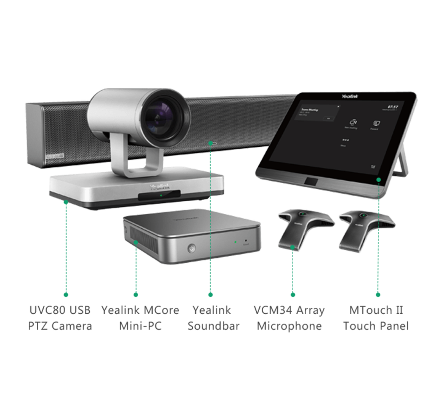 MVC800 II - Ideaal voor grote vergaderruimtes