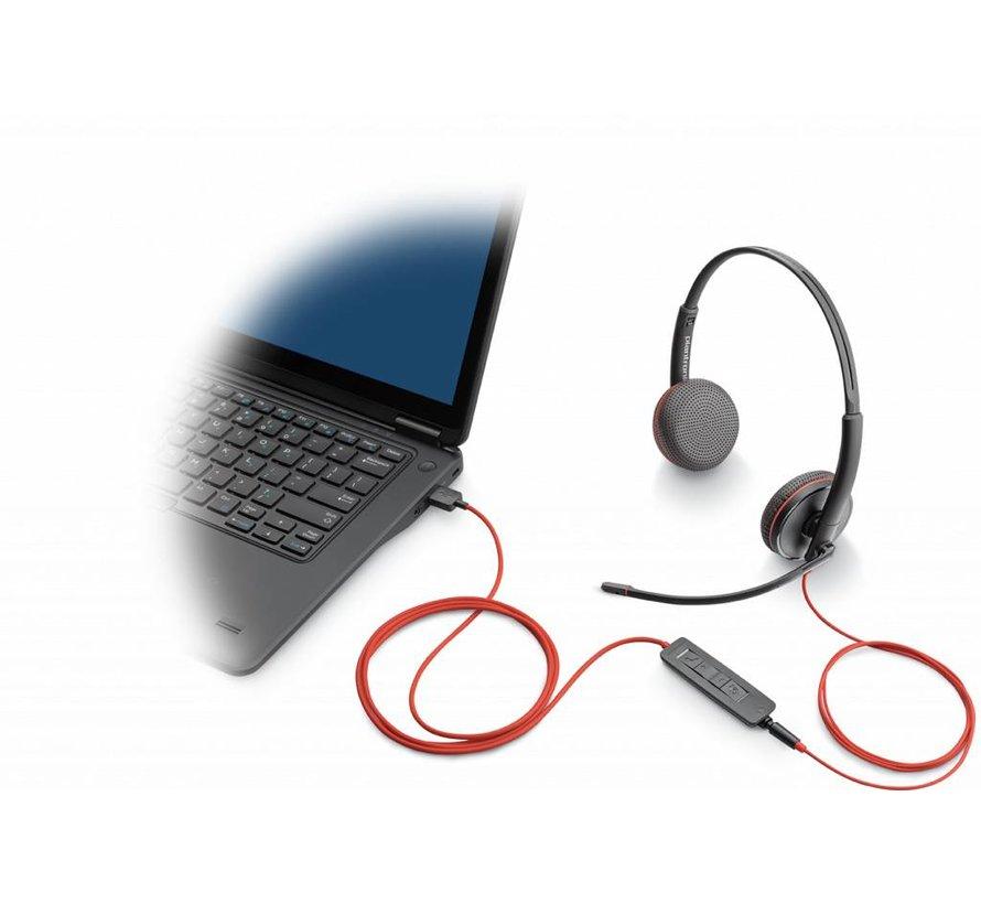 Blackwire C3225 - stereo USB-C headset - Copy