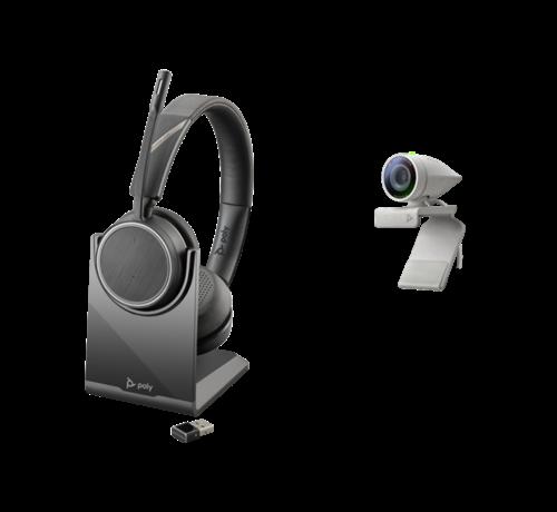 Poly Studio P5 met Voyager 4220 UC