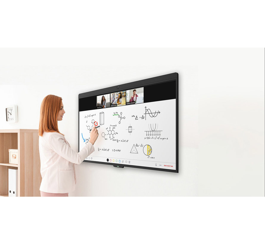 ON 55 inch Zoom Rooms touchscreen