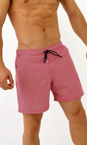 Arpione White Tip Swim short - Coral Waves