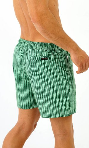 Arpione White Tip Swim short - Seaweed Waves