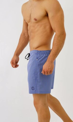 Arpione White Tip Swim short - Ocean Waves