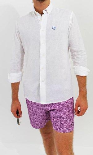 Linen/Cotton Shirt White