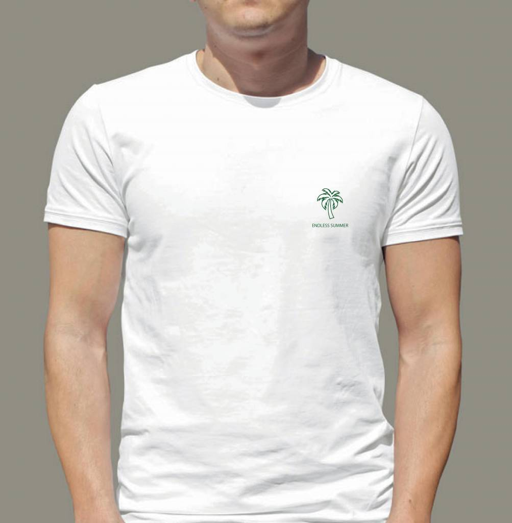 Arpione T-shirt à col rond - sans fin