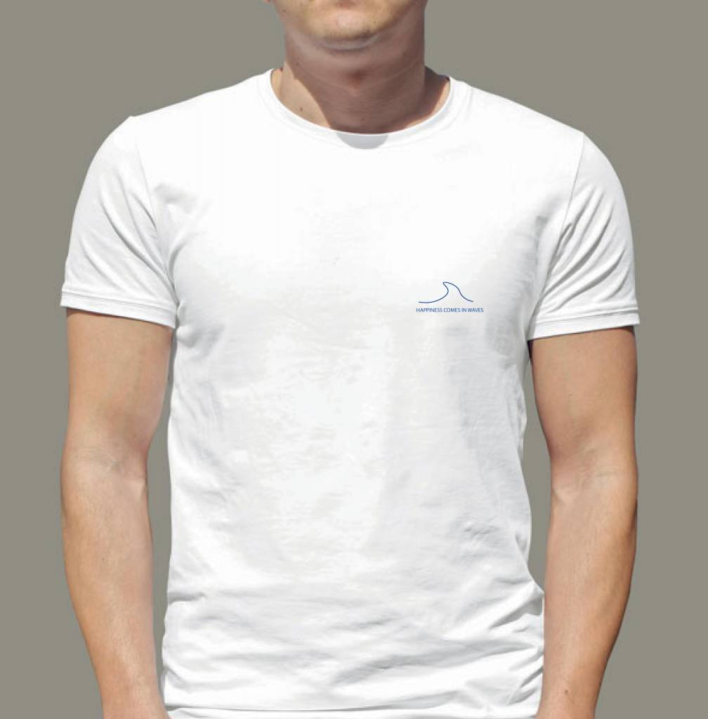 Arpione Round Neck T-shirt - Happiness