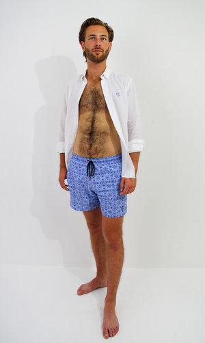 Arpione Great White Swim Short -  Cobalt Blue