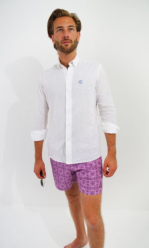 Arpione Great White Swim Short -  Purple