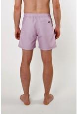 Arpione White Tip Mid-length Swim Short - Lavender