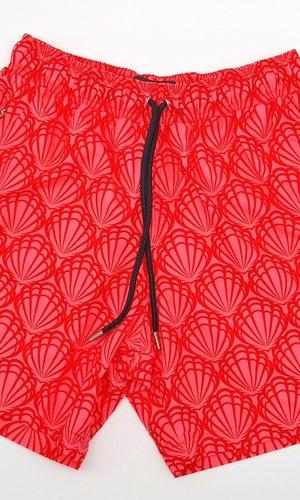 Arpione Great White Swim Short -  Rose Red