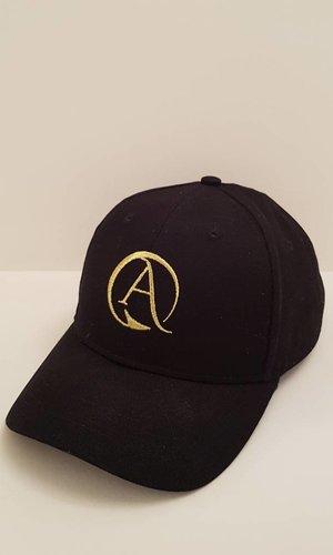 Arpione Black and Gold Arpione Cap